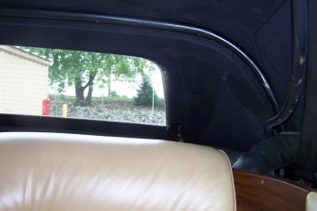 1976 Cadillac Eldorado Convertible Top Inside Left Rear .jpg