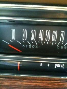 1976 Cadillac Eldorado Convertible Odometer.jpg