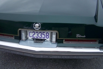 1976 Cadillac Eldorado Convertible Rear Tag.jpg