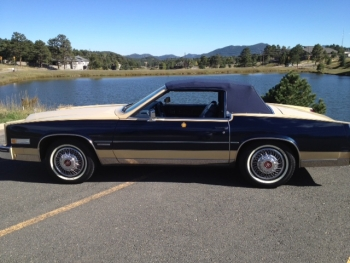 1982 Cadillac Convertible - Ext Driver Side Top Up.JPG