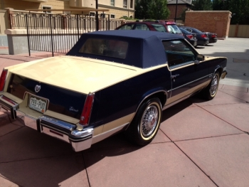 1982 Cadillac Convertible - Ext Rear View.JPG