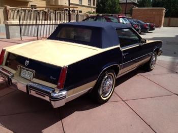 1982 Cadillac Convertible - Ext Rear View.JPG