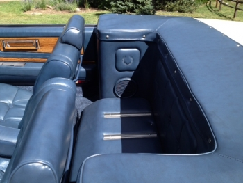 1982 Cadillac Convertible - Int Rear Seat.JPG