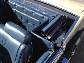 1982 Cadillac Convertible - Top Compartment.JPG