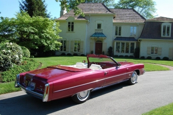 1974 Cadillac Eldorado Convertible passenger side.jpg