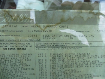 1978 Cadillac Eldorado Biarritz C1289 Docs (4).jpg