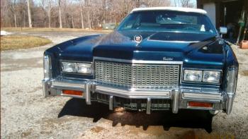 1976 Cadillac Eldorado Convertible Cover- C1301